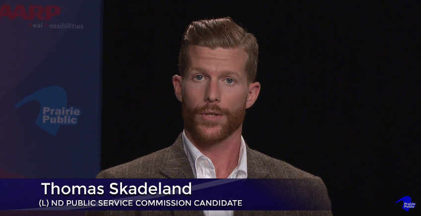 Tom Skadeland, Libertarian, North Dakota, Public Service Commission